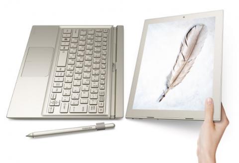 Toshiba анонсувала тонке і легке гібридний пристрій DynaPad (2)