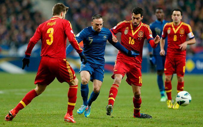 Испания франция футбол видео 16