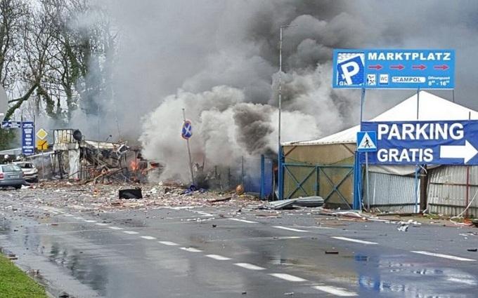 На границе Германии и Польши произошел мощный взрыв: опубликованы фото