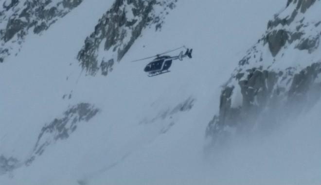 Первая смертоносная снежная лавина обрушилась в Альпах