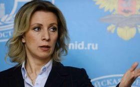 Захарова прокоментувала інцидент з літаком Лаврова в Естонії