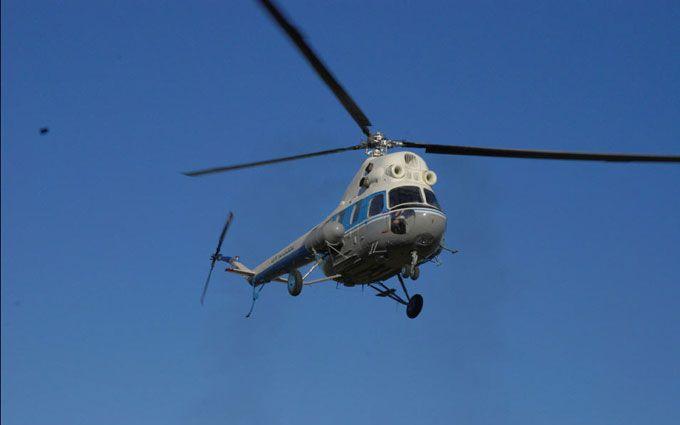 На Донбассе разбился вертолет сил АТО: есть погибшие