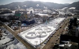 Украинские атлеты приступили к тренировкам в Пхенчхане