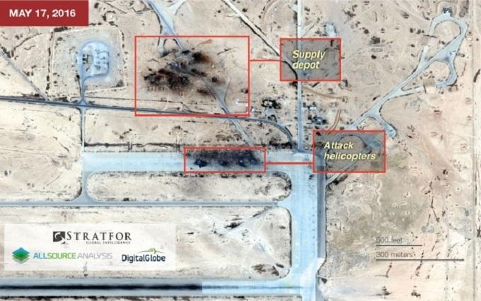 ІДІЛ знищив частину російської авіації в Сирії: фото з супутника