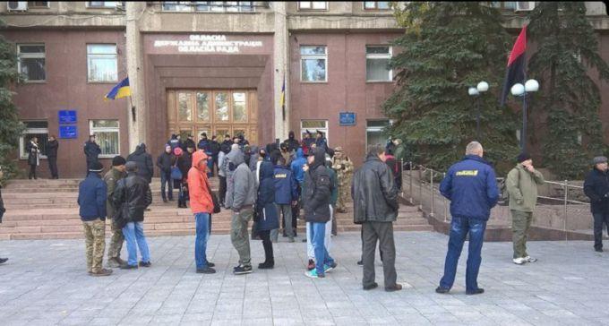 В Николаеве форум партии Медведчука вылился в беспорядки: появились фото