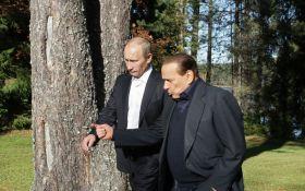 Два друга - изгоя: в сети бурно обсуждают визит Берлускони на день рождения Путина