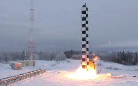 Росія похвалилася успішним випробуванням нової балістичної ракети: з'явилося відео