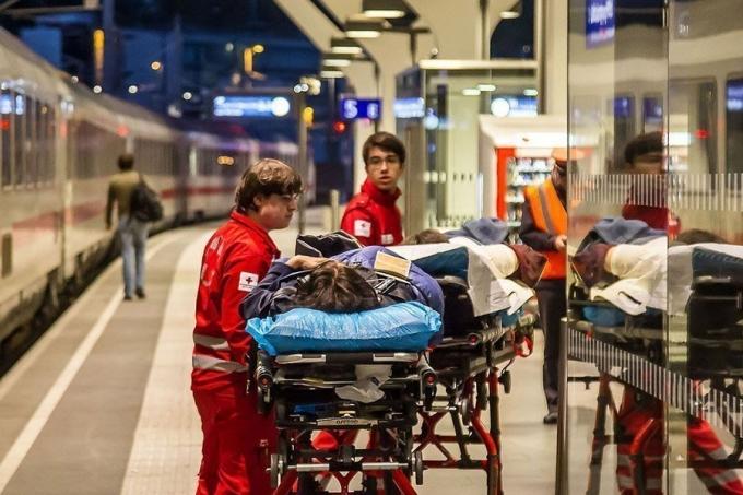 Десятки пострадавших в железнодорожной аварии на вокзале Зальцбурга: опубликованы фото (1)