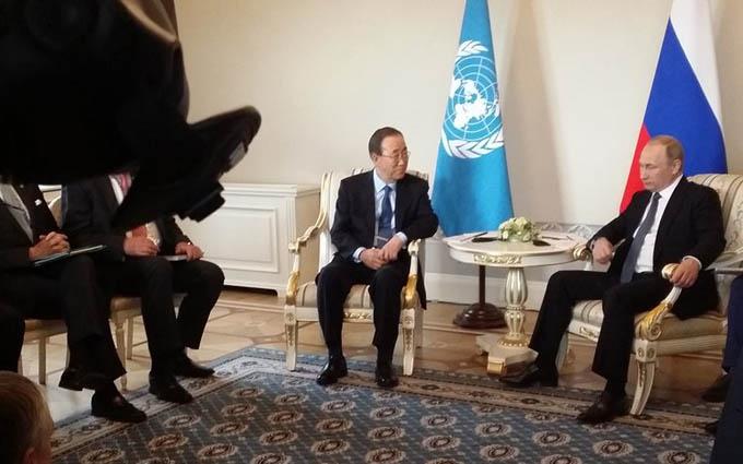 Генсек ООН здивував захопленими словами про Путіна