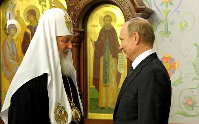Путін зробив подарунок своєму патріархові: опубліковані фото