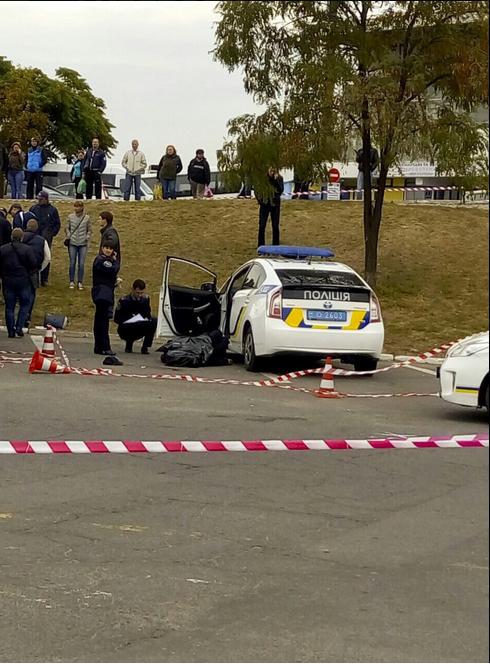 Вбивство поліцейського в Дніпрі: з'явилося відео моменту злочину (1)