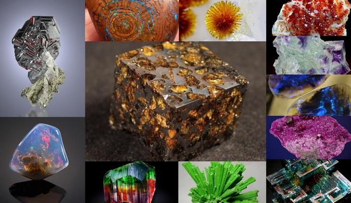 Составлен каталог самых редких минералов на планете
