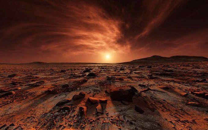 Фантастические кадры: в ESA показали первое цветное фото с Марса