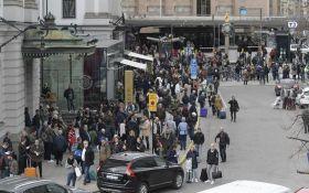 Теракт в Стокгольме: появилось новое драматичное видео