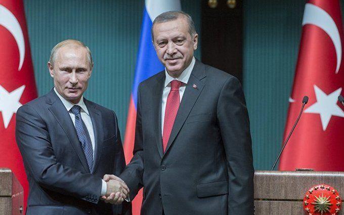 Ердоган знайшов для Путіна добре слово