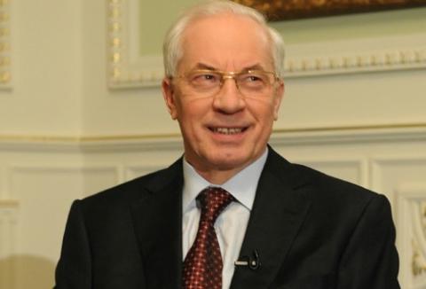 Азаров возглавил список Партии регионов
