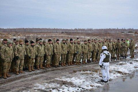 ВСУ провели военные учения на Житомирщине (1)