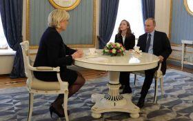 Путин на встрече с Ле Пен опять принялся врать: появилось видео