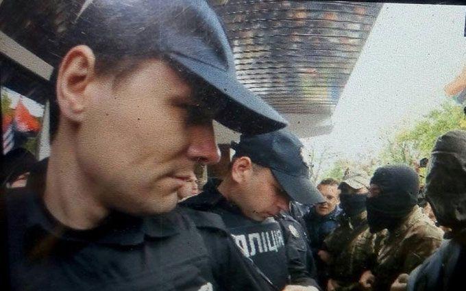 На акції під МВС сталася бійка мітингувальників з поліцією: з'явилися фото