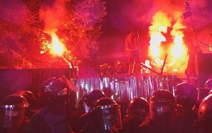 Новое побоище в Киеве: появились видео и свежие фото