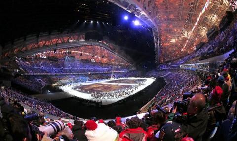 Церемония открытия Олимпиады-2014 (15 фото) (13)