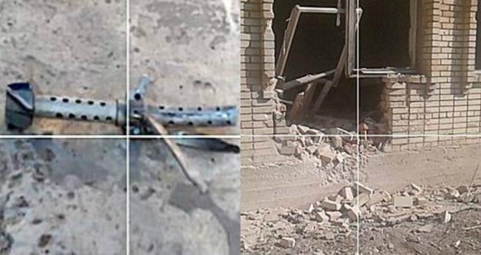 Бойовики ДНР обстріляли з танків школу: з'явилися фото (1)