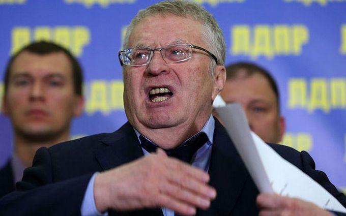"""Трамп и Путин """"поделят"""" Украину: Жириновский отличился очередным скандальным заявлением"""