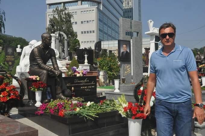 У Києві встановлено пам'ятник легендарному футболістові