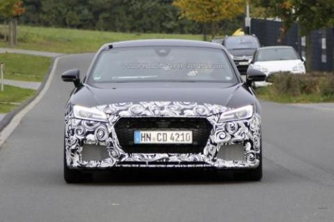 Audi TT-RS Coupe проходить тести у власному кузові (18 фото) (5)