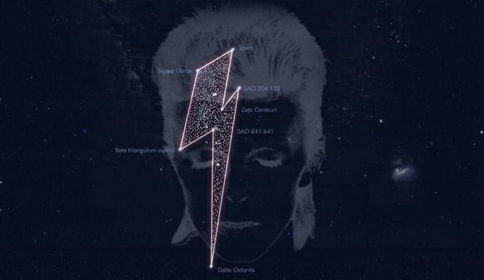 Девіду Бові присвятили сузір'я