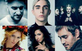 Отбор на Евровидение-2017: появились видео выступлений всех финалистов