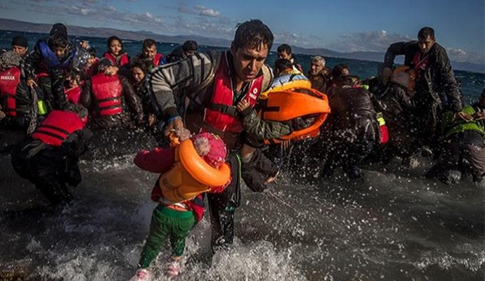 Возле греческих островов затонули две лодки с мигрантами