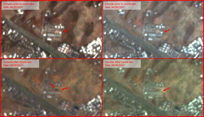 В КНДР неудачно запустили ракету, обломки упали на город (1)
