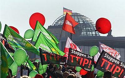 У Берліні проти торгової угоди між ЄС і США
