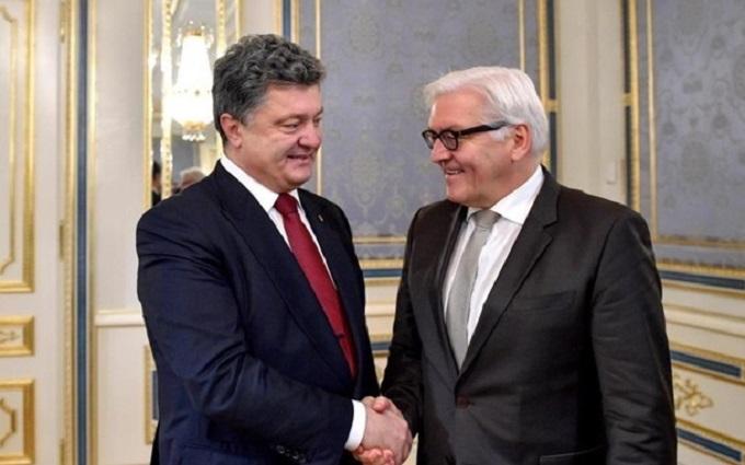 Министры иностранных дел Германии и Франции прибывают в Киев