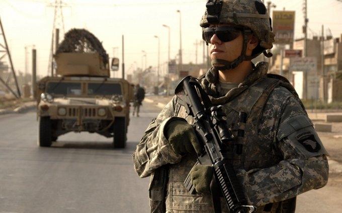 В зоне АТО официально появились солдаты из США: опубликовано видео