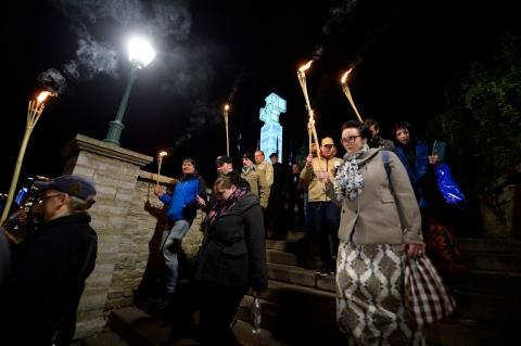 У Талліні пройшла смолоскипна хода проти міграції (3 фото) (2)
