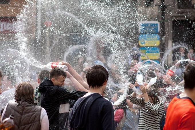 ВМамаевой Слободе подчеркнули Обливной понедельник