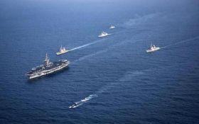 Військовий корабель США зіткнувся з південнокорейським судном - ЗМІ