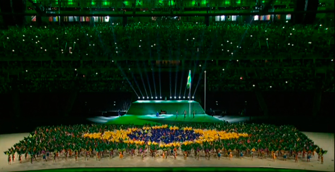 Церемония открытия Паралимпиады-2016: фото и видео из Рио (63)