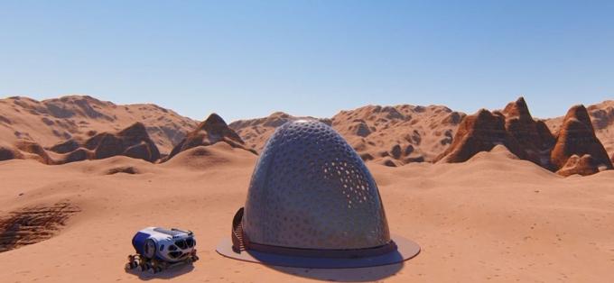 3D-дома для астронавтов: в NASA показали, какое жилье построят на Марсе (3)