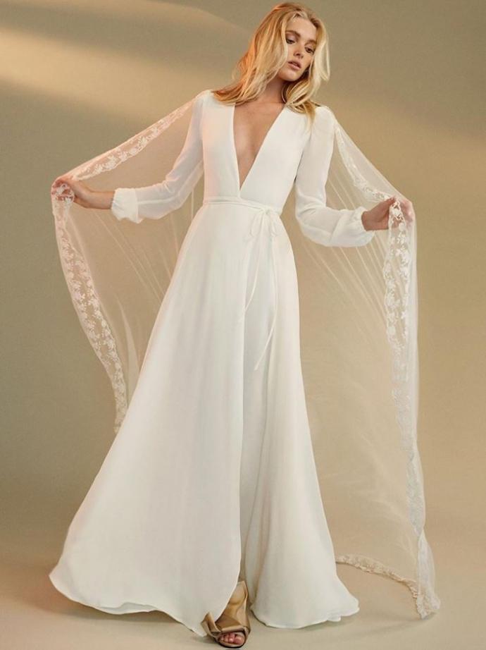 Ангел Victoria's Secret представила нову колекцію весільних еко-суконь: опубліковані фото (1)