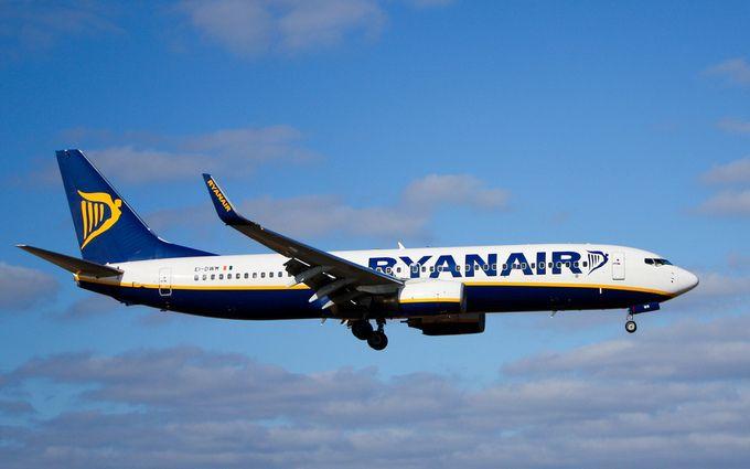 Ryanair може вийти на внутрішній ринок авіаперельотів в Україні