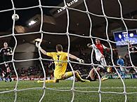 """Лига чемпионов: """"Монако"""" минимально обыграл """"Байер"""""""