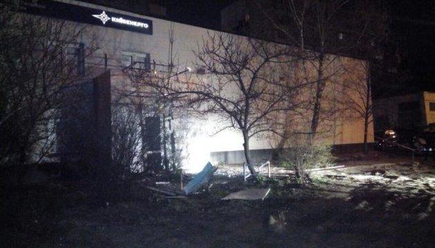 В Киеве прогремел мощный взрыв: опубликованы первые фото с места ЧП (2)