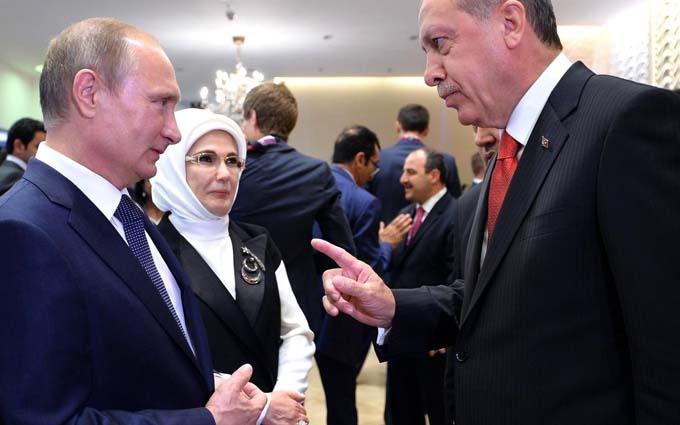 Телефонна розмова Ердогана з Путіним: з'явилися подробиці