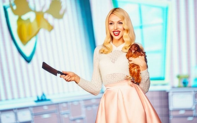 Главная блондинка Украины разделась для нового клипа: появилось видео