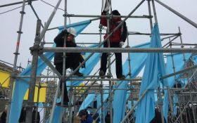 Соратники Саакашвили устроили погром в центре Киева: опубликовано видео