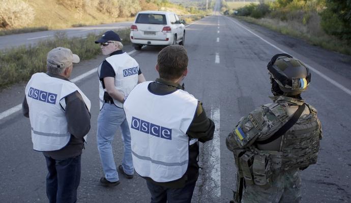 Наблюдателям ОБСЕ мешают работать