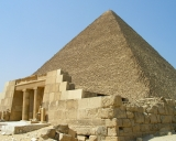 Храм и пирамида Хуфу, Древнее царство, IV династия